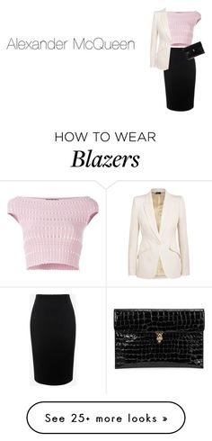 """#brand"" by ermy9 on Polyvore featuring Alexander McQueen"
