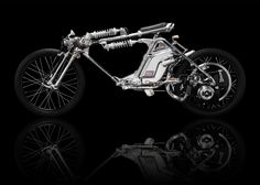 """For the past 20 years, Chicara Nagata has been dedicating his entire energy """"to the creation of art pieces, most commonly known as motorcycles."""" says M.A.D. Gallery. """"An engine, that paradoxically almost killed him in a terrible accident at the age of 16"""