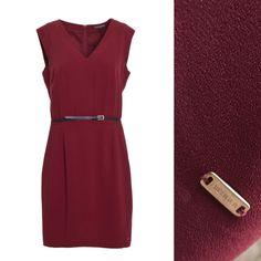 Tommy Hilfiger Women's Skirts. Abito Donna. Bordeaux. #tommyhilfiger #tommy #hilfiger #womens #donna #skirts #abito #bordeaux