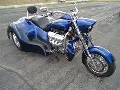 2014 Boss Hoss Gangsta Trike 485 Hp