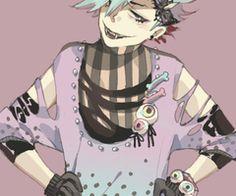 Pastel Goth Boy   Pastel goth boy---nice eue