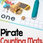 Play dough number mats for numbers Kids use ten-frames, counting and learn numerals and number words with these simple play dough mats. Monster Activities, Numbers 1 10, Number Words, Play Dough, Math Centers, Maths, Counting, Printables, Learning