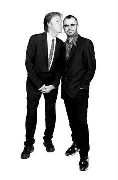 Paul & Ringo - I love this picture.