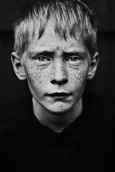 Freckles by Mathilde Vesterherup, via Behance