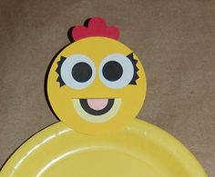 Chica The Chicken Inspired Plate