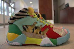 Jeremy Scott x Adidas Originals Streetball Sneakers