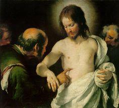 Bernardo Strozzi The Incredulity of St Thomas
