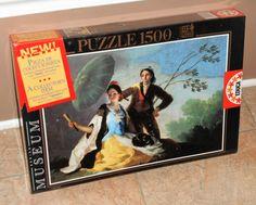 El+Quitasol+The+Parasol+1500+Piece+Jigsaw+Puzzle+7714+Educa+Museum+Series+Francisco+de+Goya+NIB