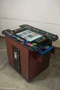 Ms Pacman Cocktail Table by TRANSON. $1299.00. IF YOU HAVE A TECHNICAL PROBLEM, YOU CAN ALWAYS CALL US FOR TECHNICAL SUPPORT. THE GAME IS VERY EASY TO MAINTAIN AND WE CAN HELP, WITH OVER THE PHONE TECHNICAL SUPPORT AND BY SUPPLYING THE NEW PARTS YOU MAY NEED. YOU WILL NEVER NEED A COSTLY TECHNICIAN TO MAKE A HOUSE CALL.