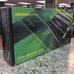 Tezla Audio car amp mono block, model TZ-2000.1D, new in the box. 1800 watts @1 ohm. #caramplifier #stopandpawn #caraudio #tezlaaudio #monoblock