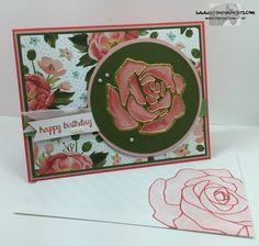 Rose Garden Happy Birthday 7 - Stamps-N-Lingers
