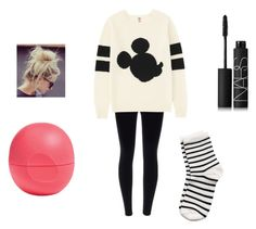 """""""Untitled #39"""" by elizabeth539 on Polyvore featuring Uniqlo, Pieces, Eos and NARS Cosmetics"""