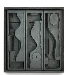 nevelson louise | Nevelson Louise : Scultura multiplo : Night blossom
