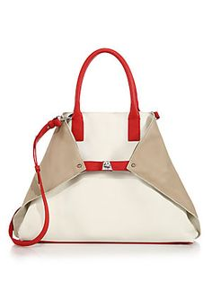 Akris - Ai Medium Multicolor Convertible Tote 6d28308679180