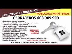 CERRAJEROS POBLADOS MARITIMOS VALENCIA 603 909 909
