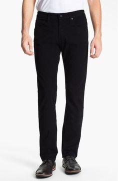 AG Adriano Goldschmied Men's 'Matchbox' Slim-Straight Pants Black 32x34 NWT $178 #AGAdrianoGoldschmied #CasualPants