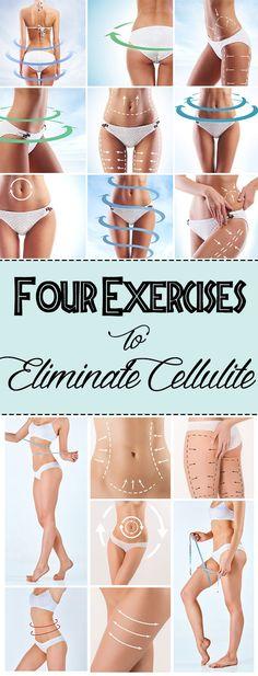 Four Exercises to Eliminate Cellulite – Exercise Secret Plan – Exercise Secret Plan