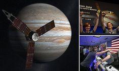 Nasa's Juno arrives safely at Jupiter after an epic 1.8BILLION mile journey | Daily Mail Online