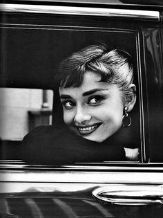 """Audrey Hepburn, 1950s    """"I couldn't quite fathom that she was real. There were so many paradoxes in that face. Darkness and purity; depth and youth; stillness and animation. She had a fresh new look, a beauty that was ethereal."""" —Anthony Beauchamp, photographer"""