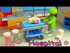 Craziest Day At the Playmobil Childrens Hosptial Part 2 - Crazy Weird Shopkins Medical Video - YouTube