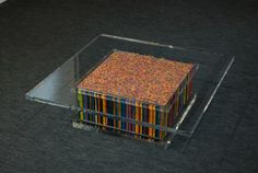 Artistic Colored Pencil Table  http://www.mymodernmet.com/profiles/blogs/artistic-colored-pencil-table