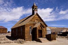 Vintage churches of the world   An Old Church In Bodie State Park In California Stock Photo - World of ...