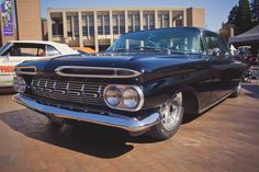 1959 Chevy Impala at the Red Square Car Show at UW