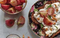 Spice Roasted Radishes and Mint Feta Yogurt