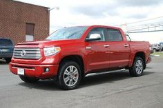 2014 Toyota Tundra, 6,734 miles, $44,900.