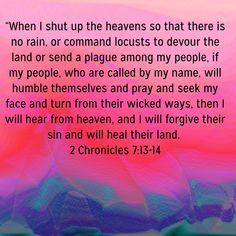 Seek Me, Wicked Ways, Scripture Pictures, No Rain, Spiritual Warfare, Shut Up, My People, Pray, Spirituality