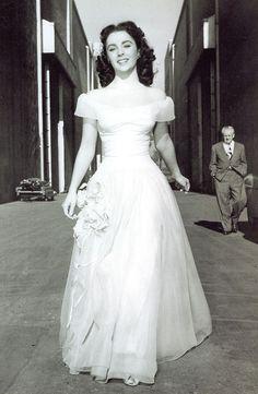 A radiant Elizabeth Taylor, 1950s   viaitsdelovely