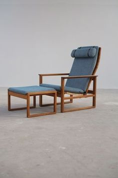 The Modern Warehouse - Furniture - Borge Mogensen Chair and Stool