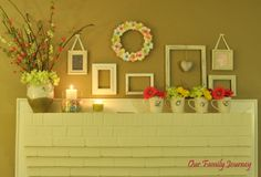 I like the simplicity and subtle color.  It's set up as Valentine's Day, but could easily be switched to Easter