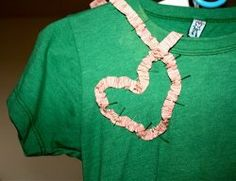 We all have shirts that we love but can't wear because of stains or tears. That's where wardrobe refashion projects come in! Learn how to Sew a Ruffle Heart Embellishment onto your favorite old tee and turn it into a fun Valentine fashion statement! This easy sewing tutorial shows you just how easy it is!