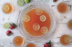 Strawberry Pisco Punch | 28 Big-Batch Summer Drinks That Know How To Get Down