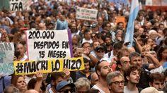 "Un sindicalista reveló que Macri llamó ""enojado"" antes de la marcha"