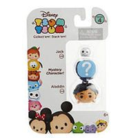 Disney Tsum Tsum Series 4 3 Pack Figures - Jack, Mystery Figure and Aladdin
