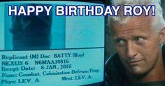 """Chegamos ao futuro: nasceu Roy, o replicante de """"Blade Runner"""" ~ Cinema Secreto: Cinegnose"""