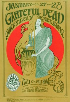 Grateful Dead and Quicksilver Messenger Service at the Avalon Ballroom in San Francisco, by Mouse & Kelly