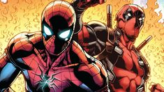 Deadpool and Spiderman Wallpaper - Unique Deadpool and Spiderman Wallpaper , Spider Man Deadpool Marvel Ics Wallpaper Spider Man Marvel Marvel Fan Art, Loki Marvel, Marvel Comics, Best Of Deadpool, Deadpool And Spiderman, Deadpool Wallpaper, Avengers Wallpaper, Marvel Studios Logo, Spiderman Images