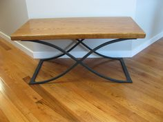 Wrought Iron Coffee Table. $800.00, via Etsy.