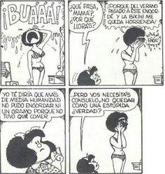 Quino Always the best Comics Toons, Bd Comics, Ravenclaw, Mafalda Quotes, Funny Quotes, Life Quotes, Woman Quotes, Funny Memes, Humor Grafico