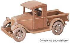 Toy Plans & Kits — Road Vehicle - Woodworking