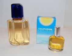 California For Men After Shave 2 Oz and Cologne .5 Full Bottles #Dana