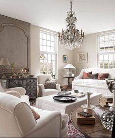 Beautiful Living Rooms Designs Awesome Chic Elegant Living Room With Taupe Molding Taupe Builtins Decorating Design