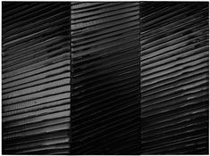 Pierre Soulages - the color black and light is all you need