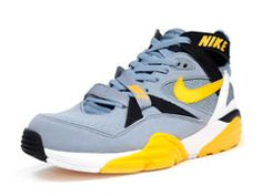 #Nike Air Trainer Max 91 Bo Jackson Grey/Yellow/Black #sneakers