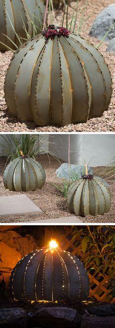 Cactus Torch // Yard Art
