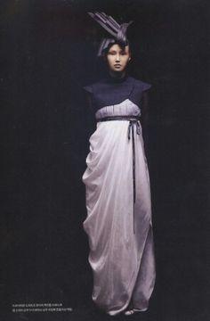 Reused & Renewed: Hanbok(한복) by lee young hee Hijab Fashion, Korean Fashion, Fashion Outfits, Fashion Clothes, Korean Traditional Dress, Traditional Dresses, Korean Dress, Korean Outfits, Modern Hanbok
