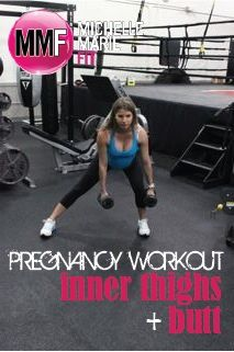 Pregnancy Workout For Inner Thighs & Butt | Michelle Marie Fit